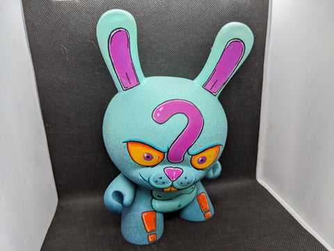 """The Punctuated Rabbit"" Custom 8"" Dunny Figure"