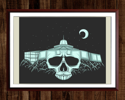 Science North Skull Print (11x17)