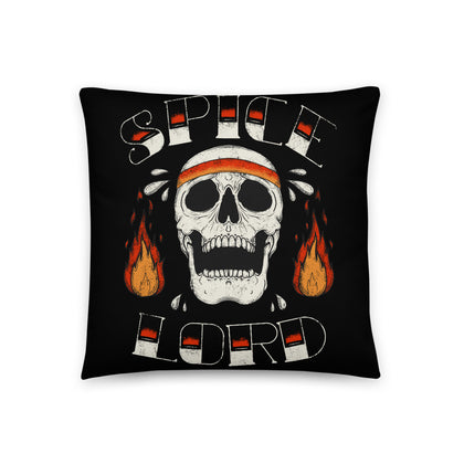 """Spice Lord"" Throw Pillow"