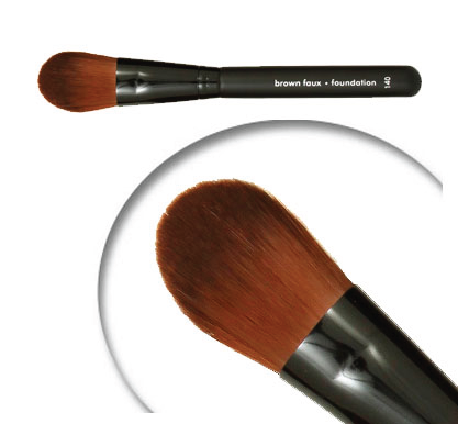 FOUNDATION-BROWN FAUX