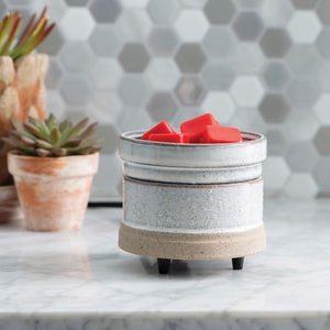 Rustic White 2n1 Wax Warmer