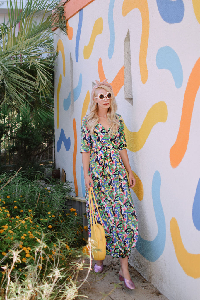 Moment of Madness Maxi Wrap Dress