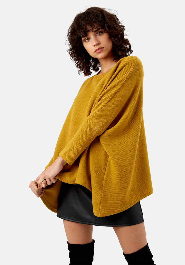 Traffic People Star Duster Sloppy Joe in Mustard Back View Image