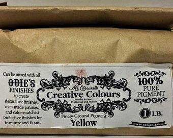 Odies Oil: Mr. Cornwall's Custom Colours  YELLOW