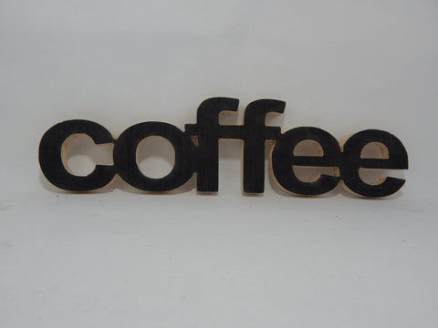Handcrafted Wood sign! COFFEE ! Great gift! Rustic home decor!