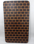 End Grain - Walnut & Maple Brick Pattern