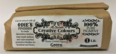 Odies Oil: Mr. Cornwall's Custom Colours  GREEN