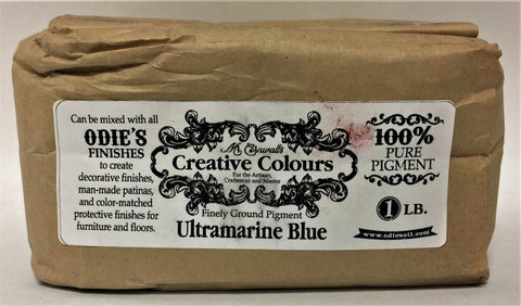 Odies Oil: Mr. Cornwall's Custom Colours    ULTRAMARINE BLUE