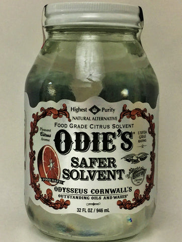 Odies Oil: Safer Solvent