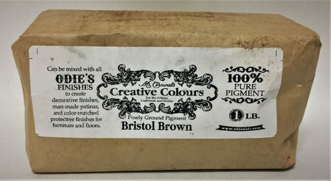 Odies Oil: Mr. Cornwall's Custom Colours  BRISTOL BROWN