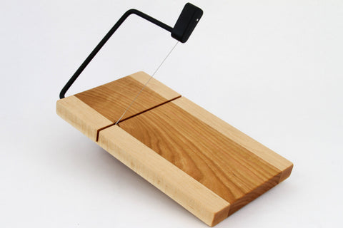 Wood Cheese Slicer/Cutter - Cherry and Maple.
