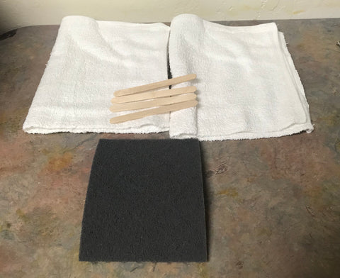 Grey Pad Kit for Odies Oil