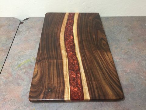 Epoxy Resin Charcuterie Board