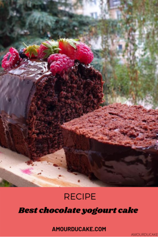 Incredible chocolate yogurt cake