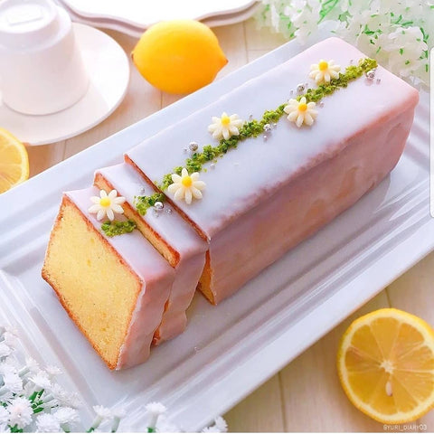 lemon cake by yuri diari