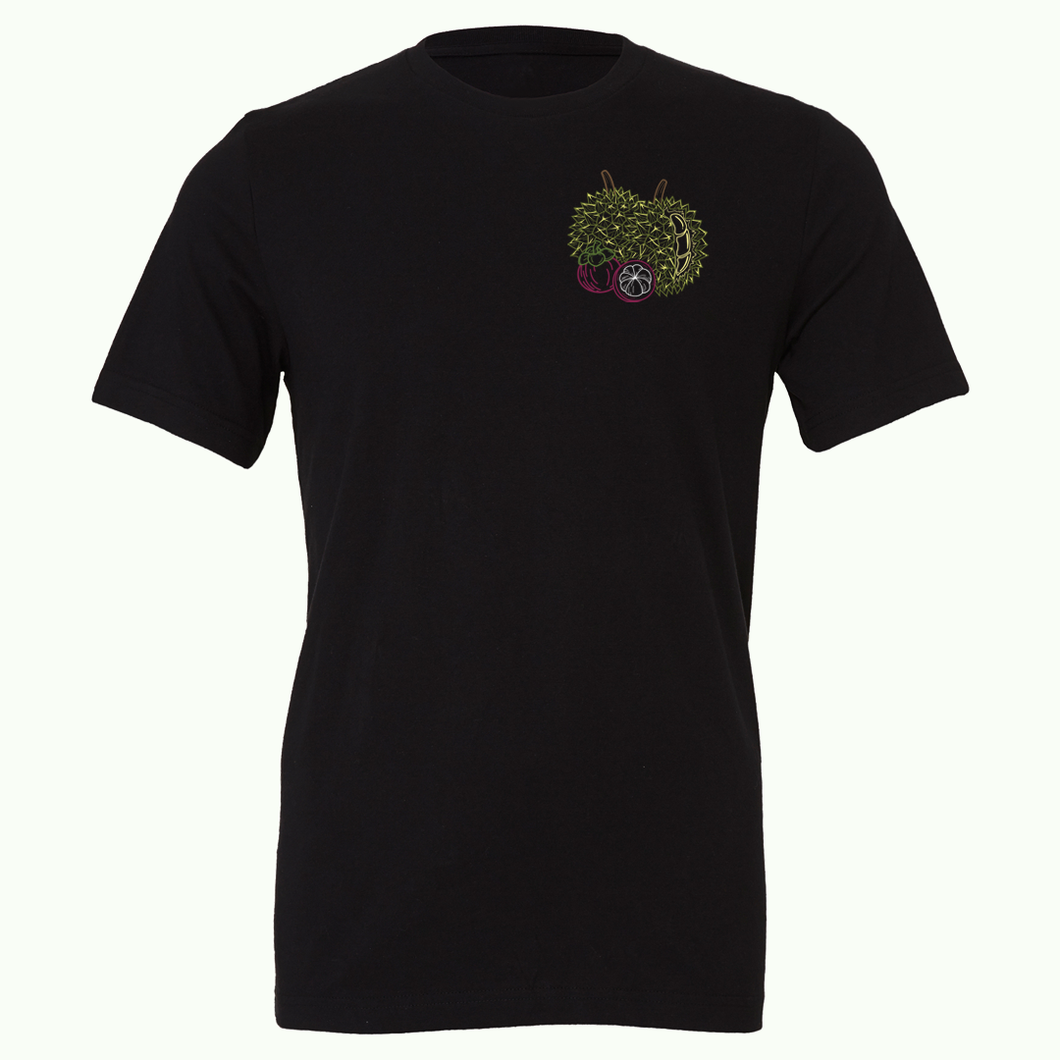 Durian & Mangosteen - King & Queen of Fruits Tee