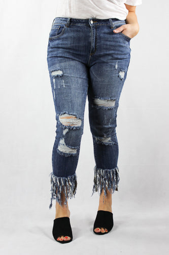 Not A-Frayed of Fashion Jeans