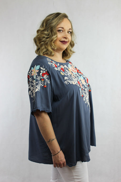 South of the Broider Blouse