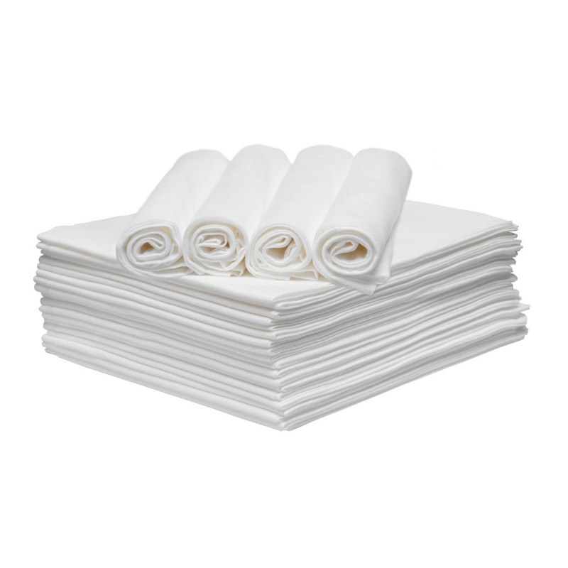 600 WHITE DISPOSABLE ECO TOWELS