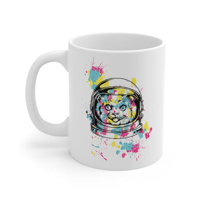 Space Cat Mug 11oz