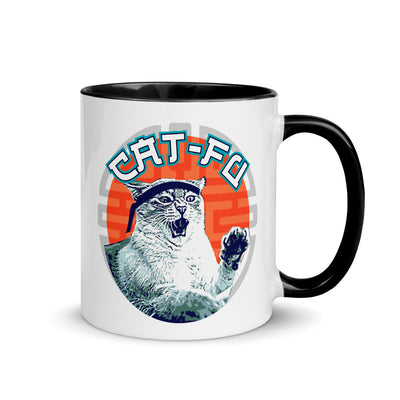 Cat Fu Coffee Mug