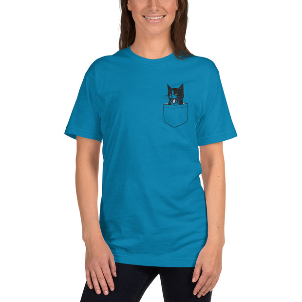 Cat In Pocket T-shirt