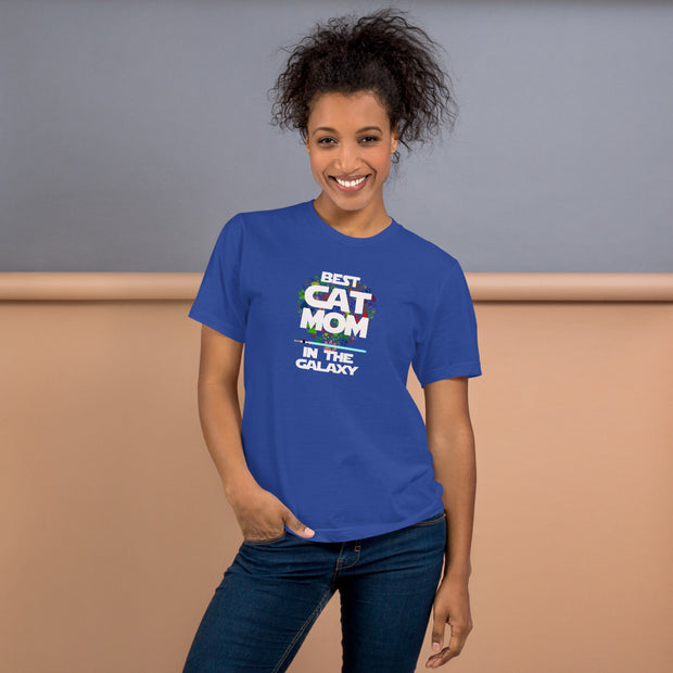 Best Cat Mom In The Galaxy T-Shirt