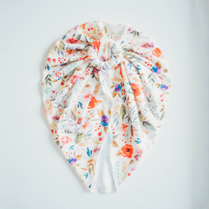 Floral Knotted Head Wrap