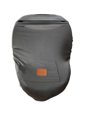 Nursing Cover/Carseat Cover – Gray