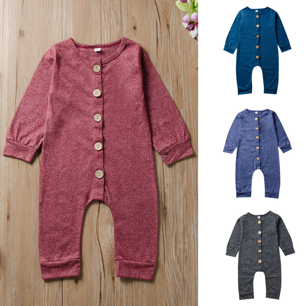 Button Down Onesie