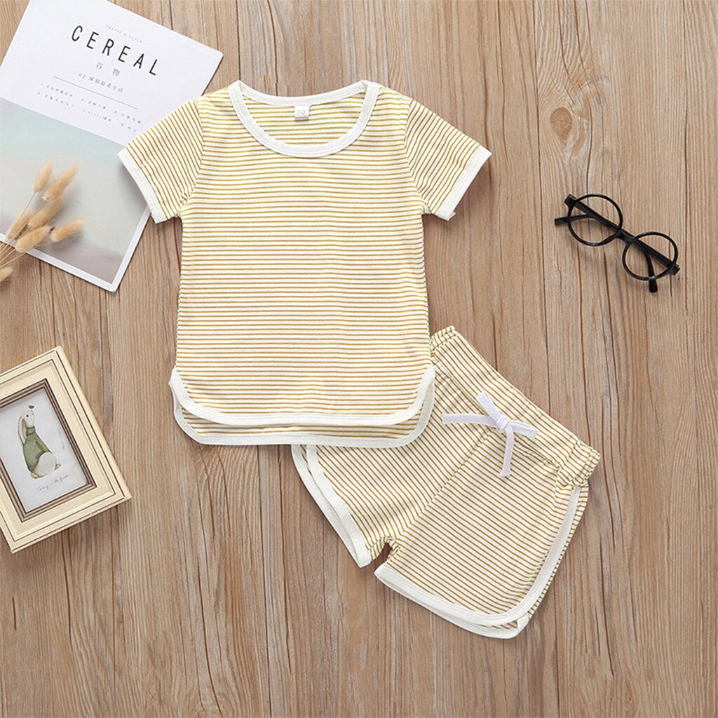 Baby Striped Short Set