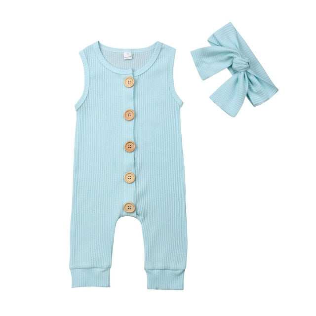 Molly Jumpsuit and Bow Set
