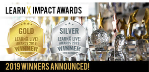 Global LearnX Live Awards - Gold and Silver Winners!