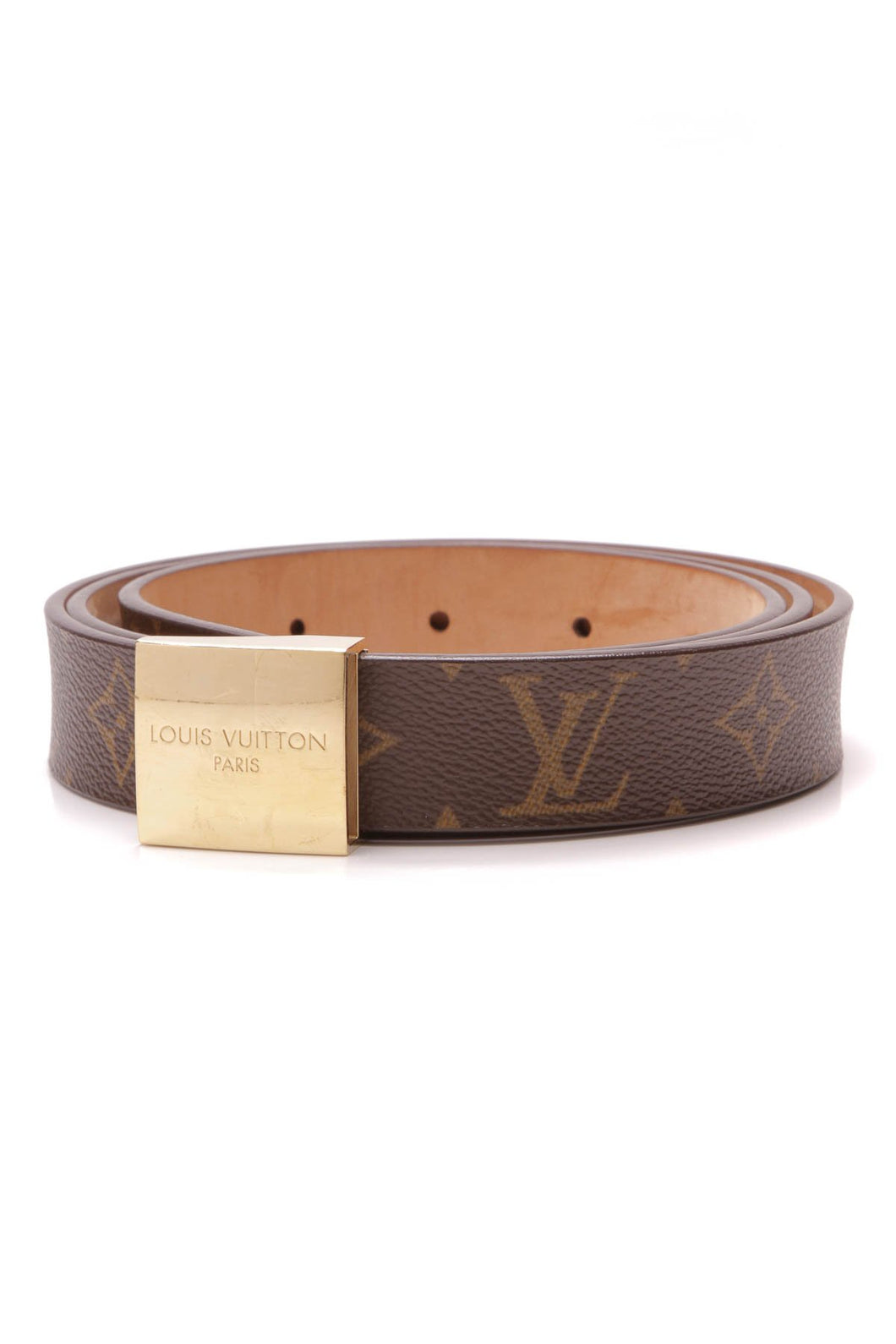 Louis Vuitton Ceinture Carree Belt - Monogram Size 44