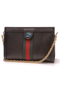 Gucci </p> Ophidia Small Shoulder Bag - Black