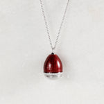 Colier Deep Red Faberge Egg
