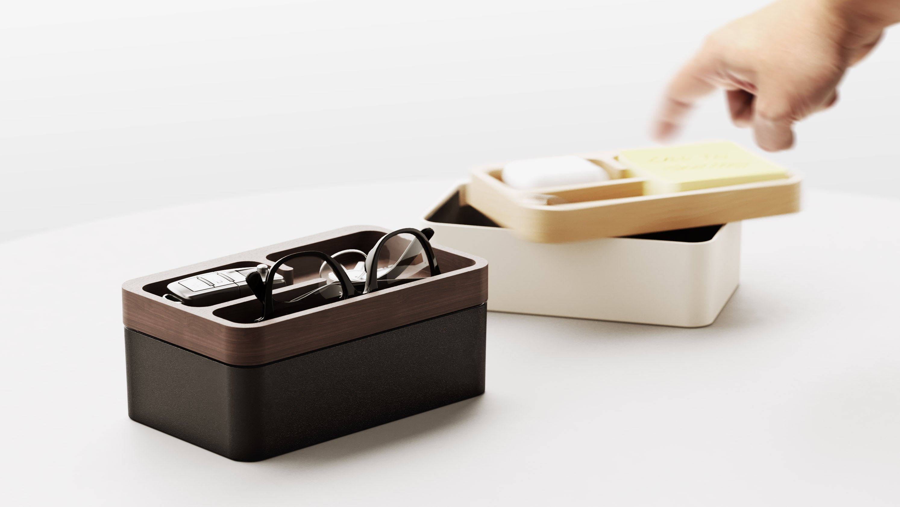 Revov Magnetic Rotating Tray Box (Gift Edition)