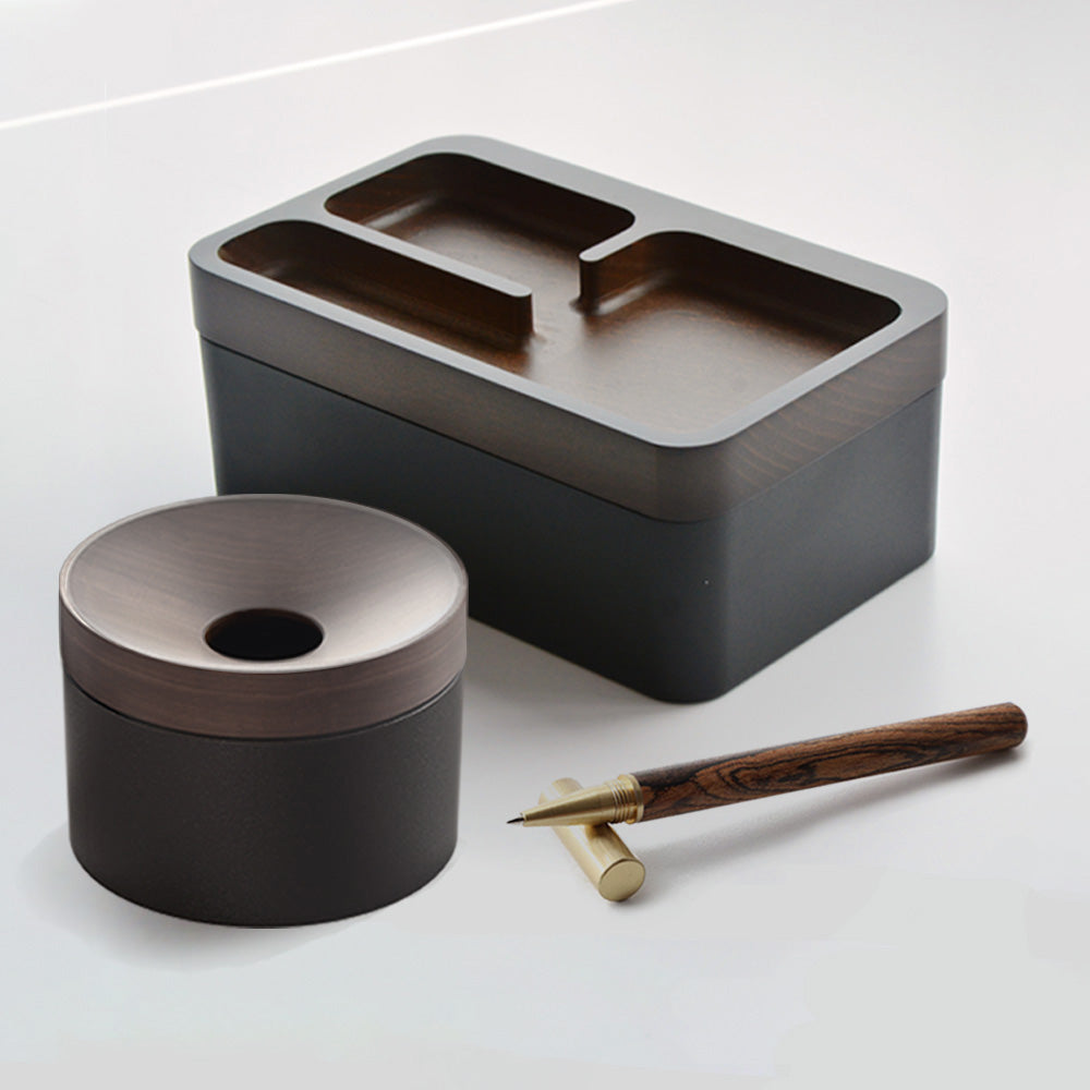 Revov Combo : Coin Storage II + Tray Box $109 with Free Wood Pen