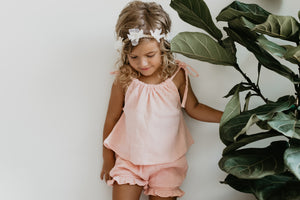 Kinley Short Set - SHELL PINK
