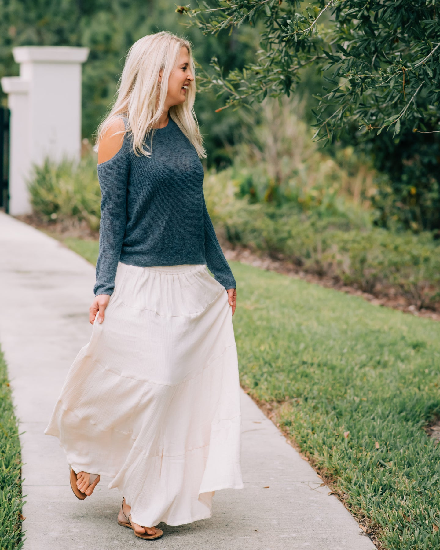 Women's Bella Maxi Skirt - SAND