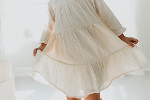 Maddie Dress & Bloomer - SAND