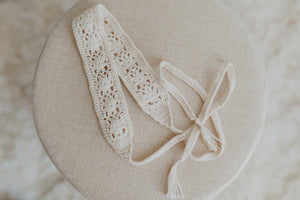 Flower Lace Hand-Crocheted Headband