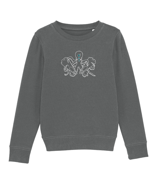 Octopus - Clothing - Heather Grey / XS / 3-4 - 100% cotton - Banshy