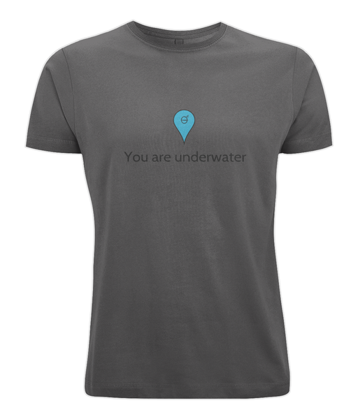 You are underwater - Clothing - Dark Grey / X-Small - 100% cotton - Banshy