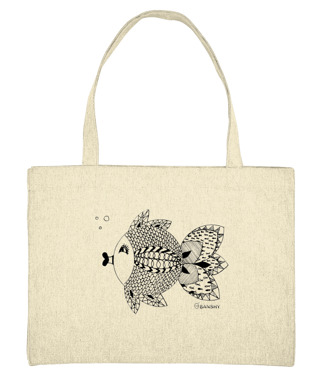 Mandala fish - Bag - [variant_title] - 100% cotton - Banshy