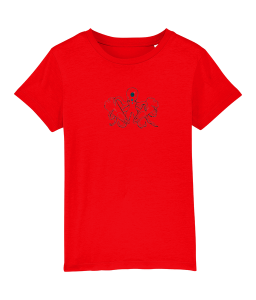 Octopus - Clothing - Red / XS / 3-4 - 100% cotton - Banshy