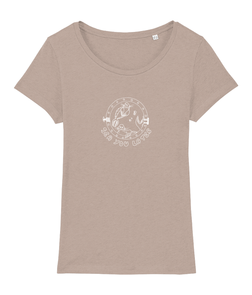 Seals, sea you later! - Clothing - Faded Nude / X-Small - 100% cotton - Banshy