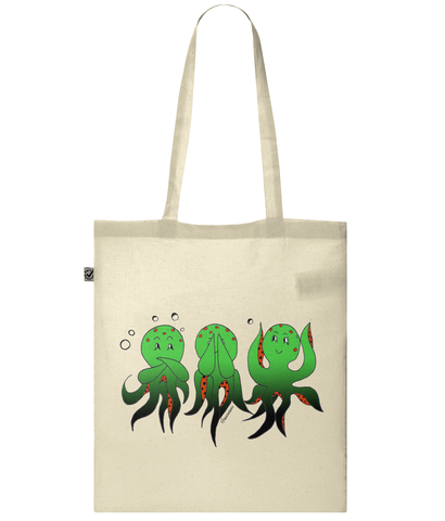 Wise Octopus - Bag - [variant_title] - 100% cotton - Banshy
