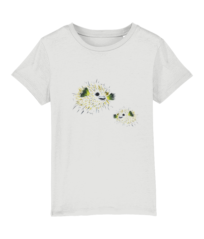 Mini  pufferfish - Clothing - White / XS / 3-4 - 100% cotton - Banshy