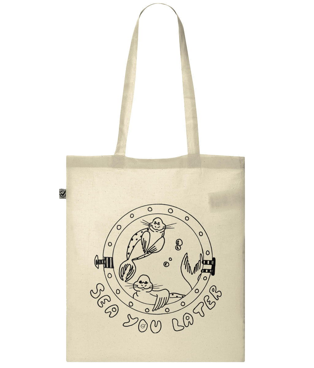 Seals, sea you later! - Bag - [variant_title] - 100% cotton - Banshy